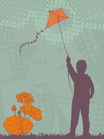 The kite runner Free Vector