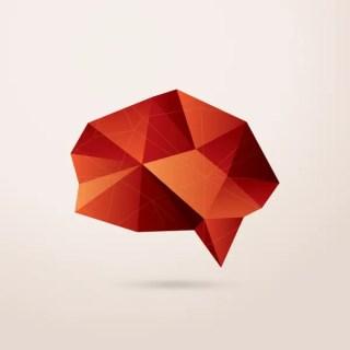 Triangular Speech Bubble Free Vector