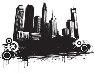 Vector City Free Vector