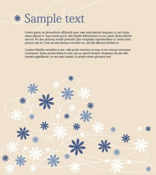 Vector Flower Background Free Vector