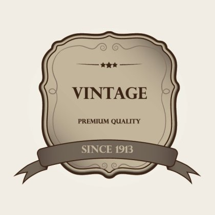 Vintage Label Free Vector