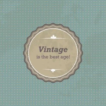 Vintage Sign Free Vector