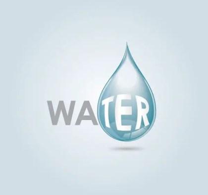 Water Drop Free Vector