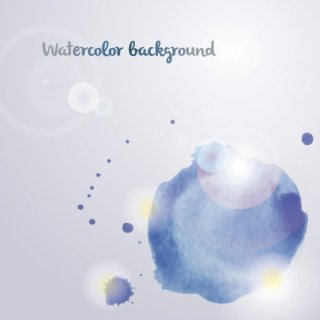 Watercolor Background Free Vector