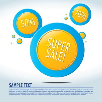 Yellow Circles Free Vector