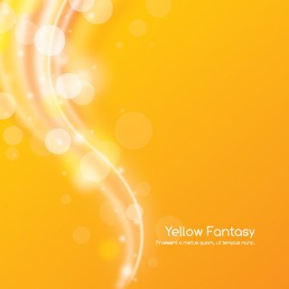 Yellow Fantasy Free Vector