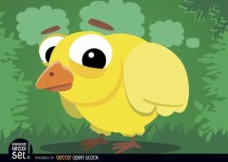 Baby Chicken Cartoon Animal Free Vector