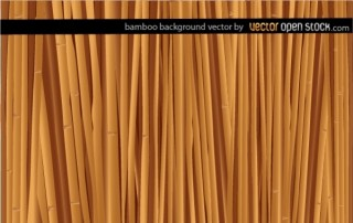 Bamboo Background Free Vector