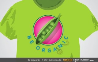 Be Orgasmic T-Shirt Man Free Vector