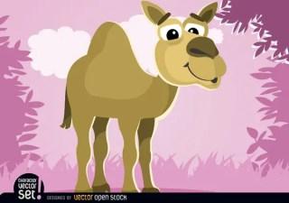 Camel Cartoon Animal Free Vector