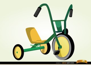 Children Bicycle Cartoon Free Vector
