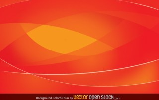 Colorful Sun Background Free Vector