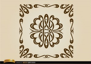 Curved Lines Ornamental Borders Free Vector