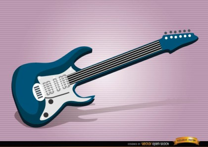 Electric Guitar Musical Instrument Free Vector