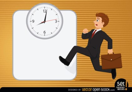Executive Running with Clock Free Vector