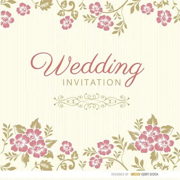 50 Elegant Wedding Invitation Vectors Download Free Vector Art