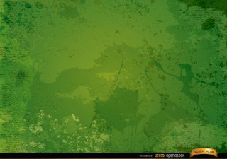 Green Grunge Rustic Background Free Vector