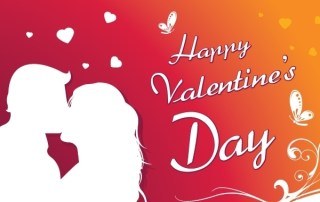 Happy Valentine'S Day Greeting Card Free Vector