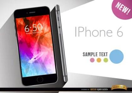 Iphone 6 Promo Free Vector