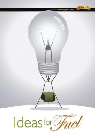 Light Bulb Ideas Creativity Free Vector