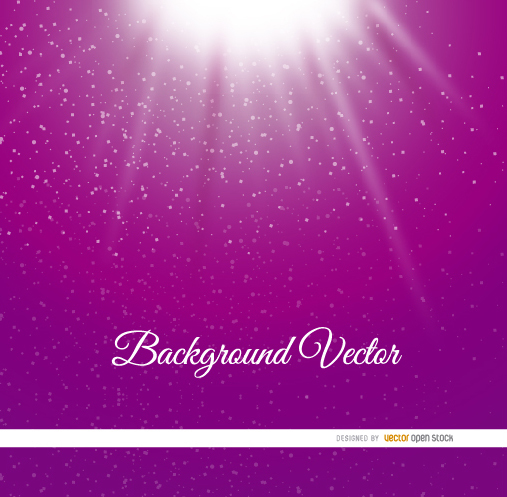 Light Dots Purple Background Free Vector