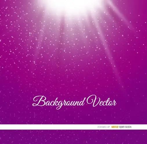 Light Dots Purple Background Free Vector