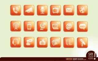 Media Icons Free Vector