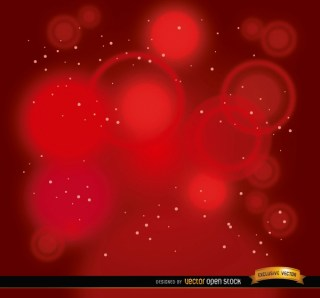 Red Spotlights Stars Background Free Vector