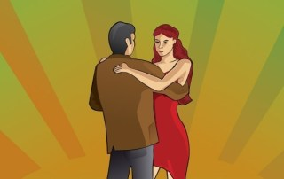 Tango Couple Dancing Free Vector