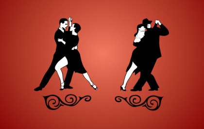Tango Dancing Free Vector
