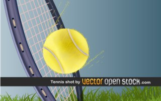 Tennis Shot Free Vector