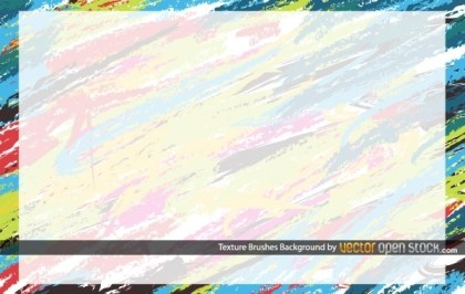 Texture Brushes Background Free Vector