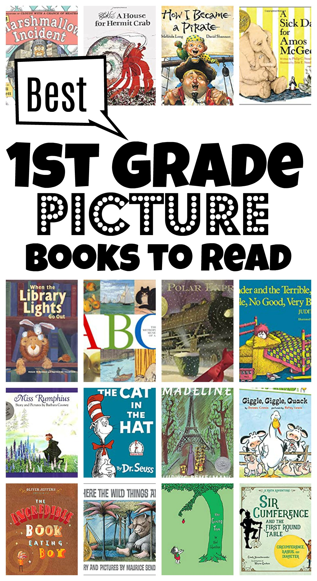 First Grade Read Alouds Picture Books