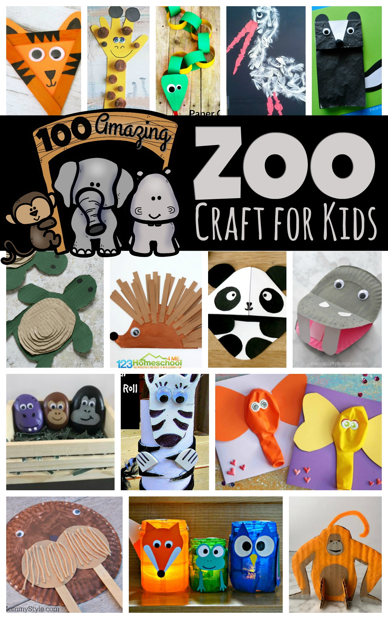 100 Amazing Zoo Craft Activities