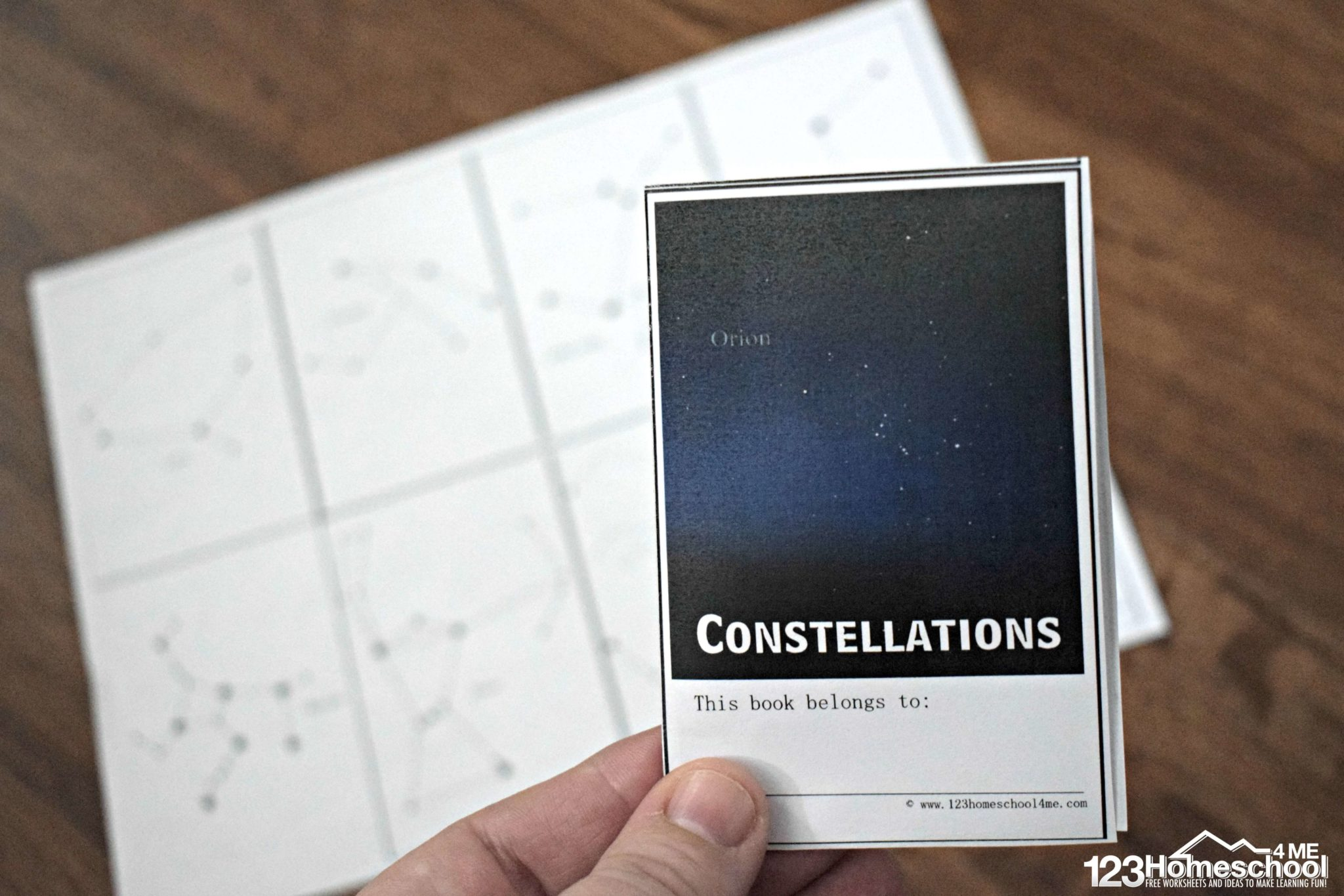 Free Constellation Booklet