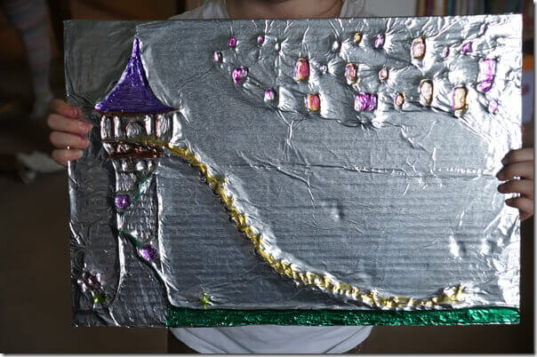Amazing-Tin-Foil-Craft-for-Kids