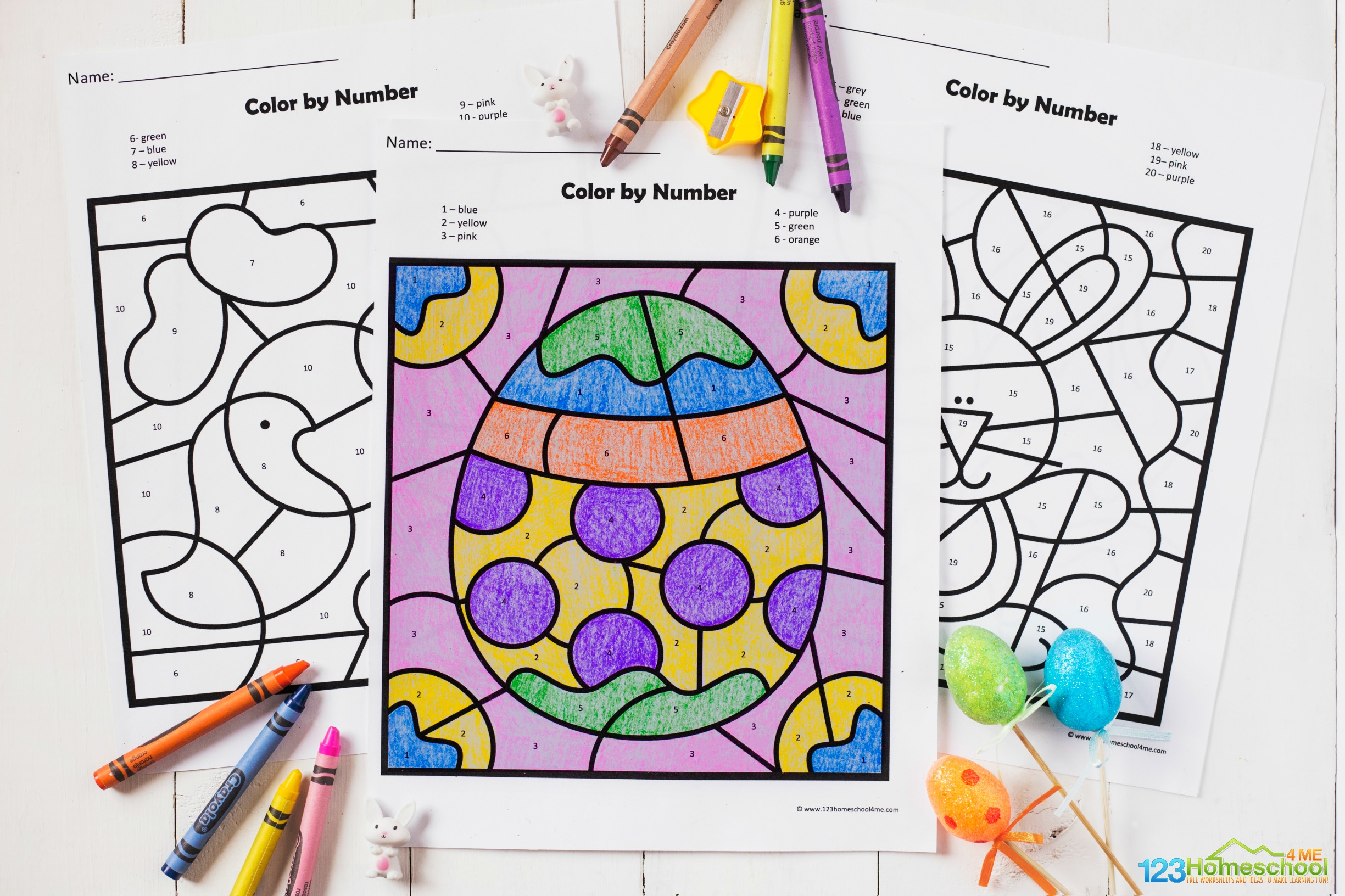 Preschool Worksheet Gallery Easter Egg Math Worksheets