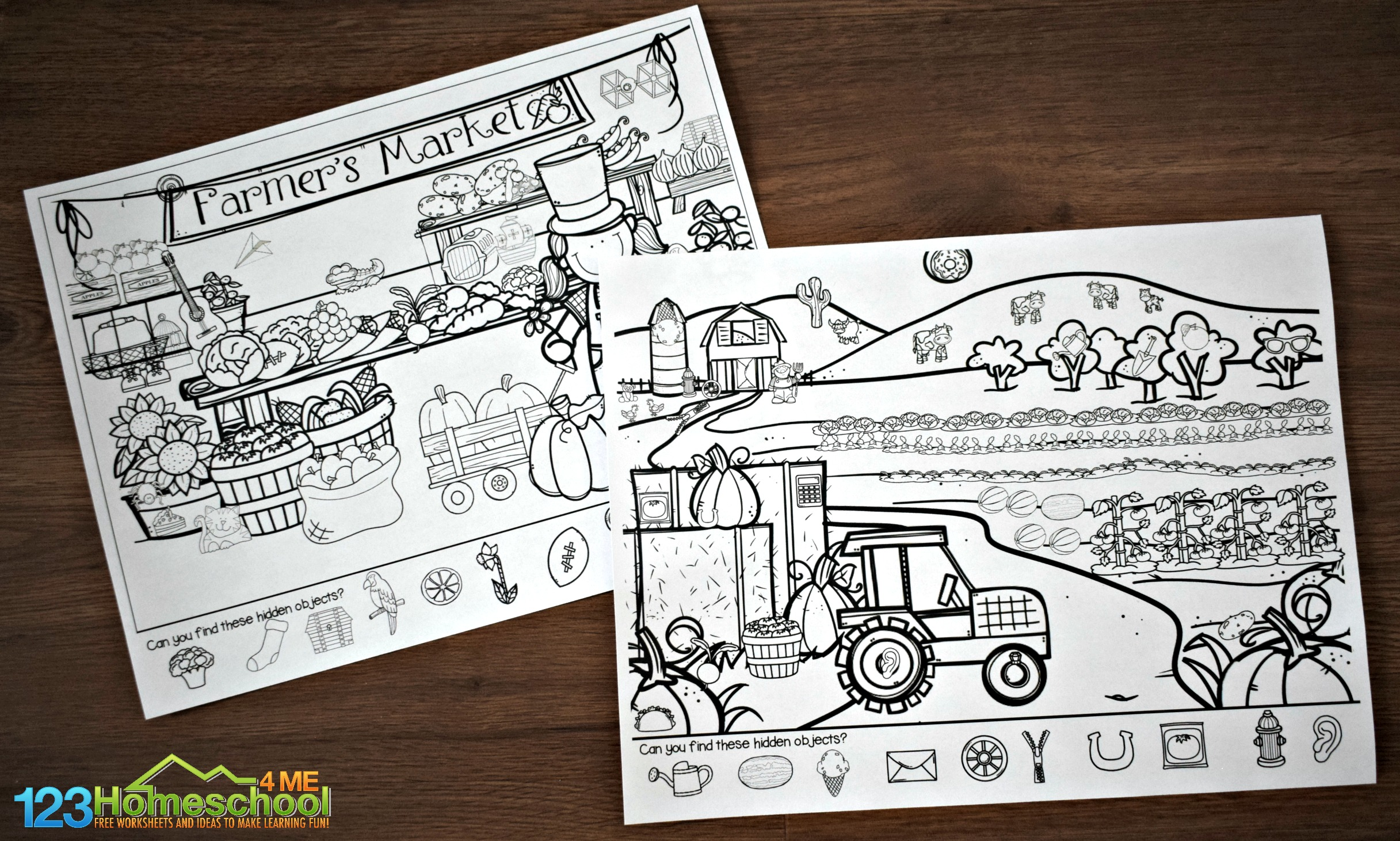 Slobbery Find The Hidden Objects Printable