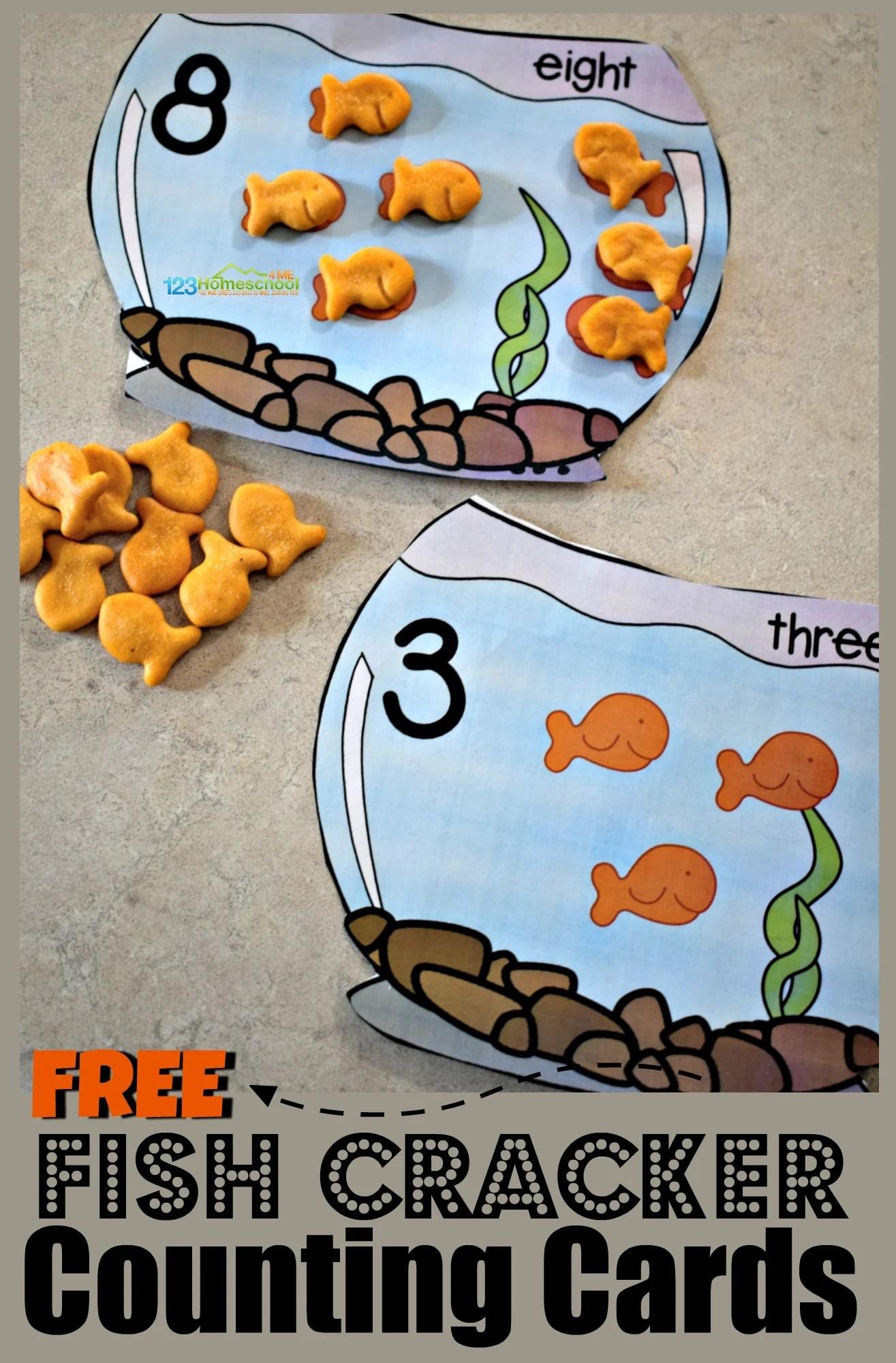 Free Goldfish Counting Bowls