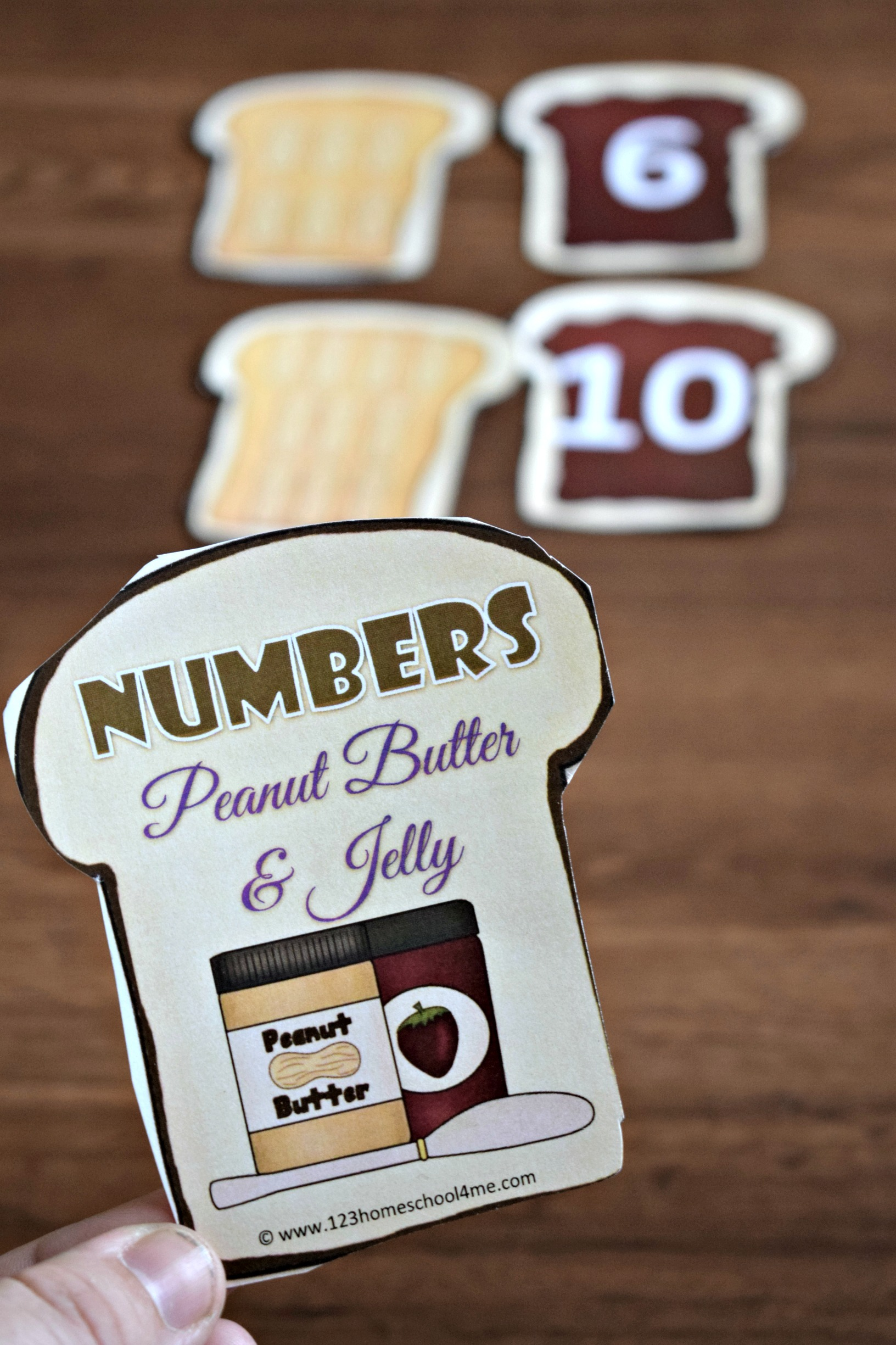 Free Peanut Butter And Jelly Count And Match