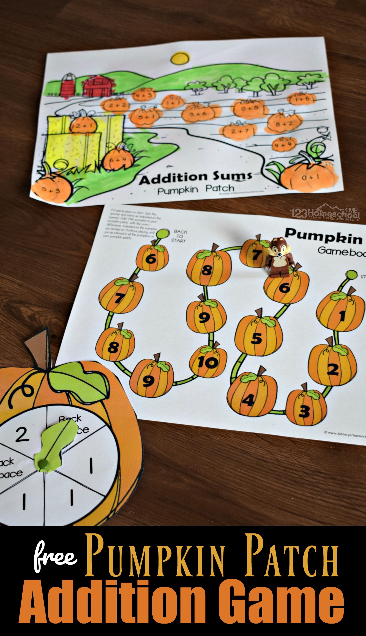 Pumpkin Patch Addition Game