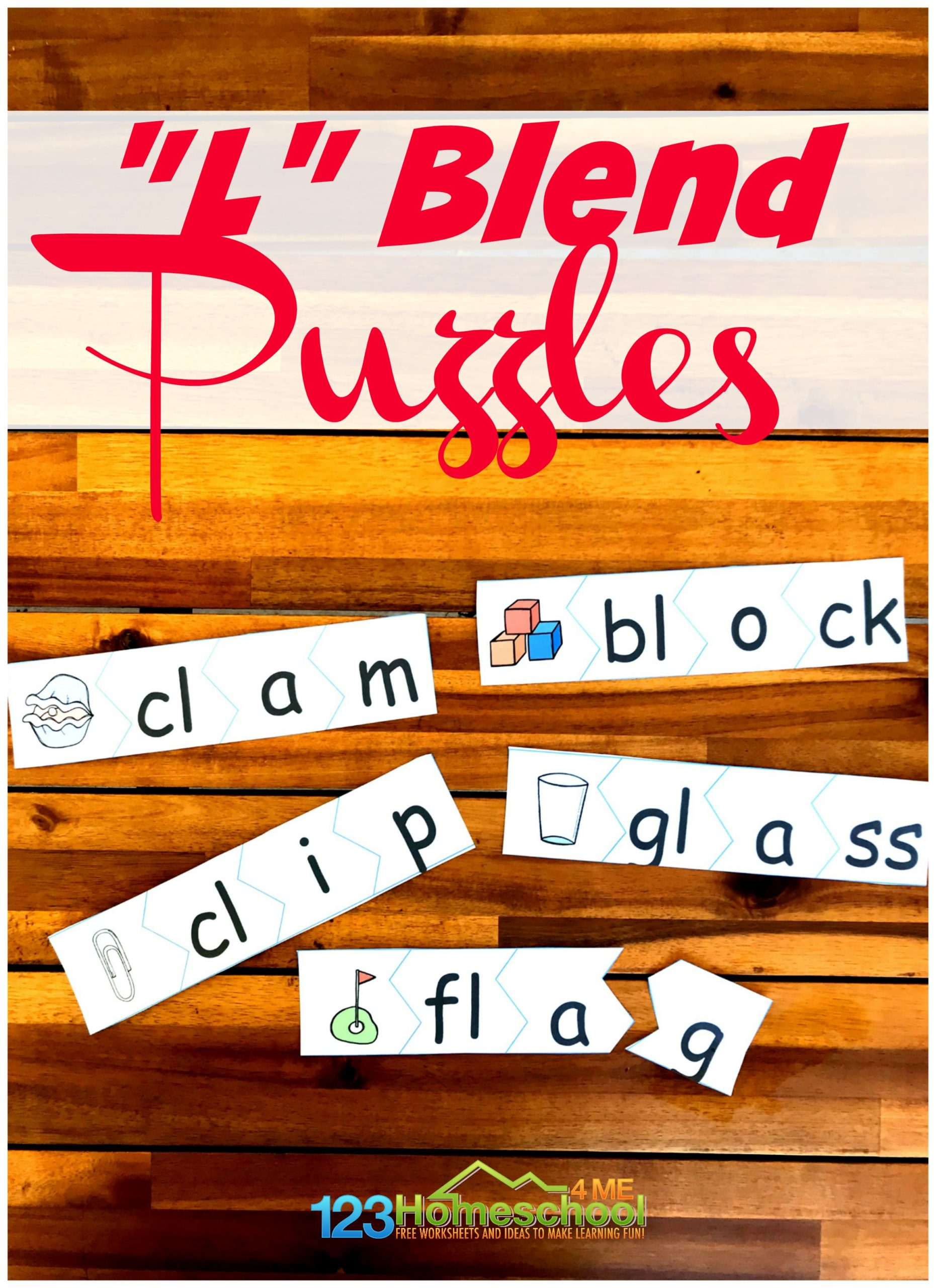 Free L Blends Puzzles