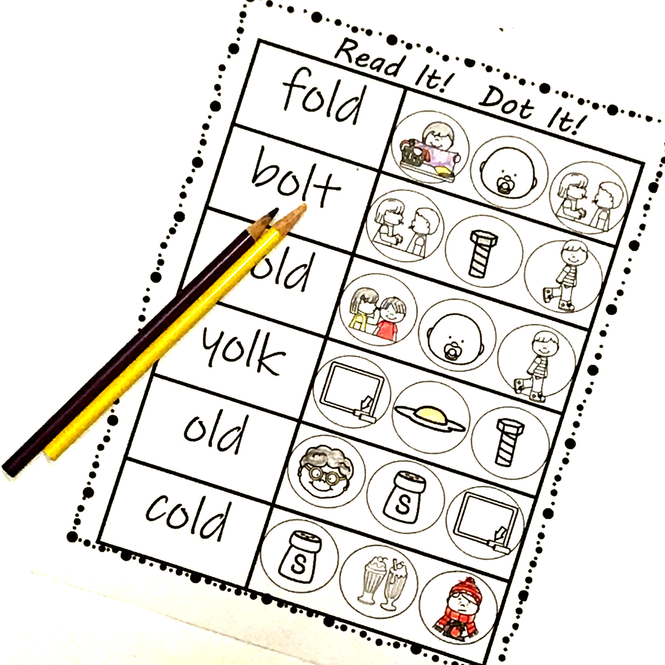 Free Ending Blends Worksheets