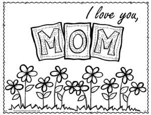 Free Mothers Day Coloring Sheets