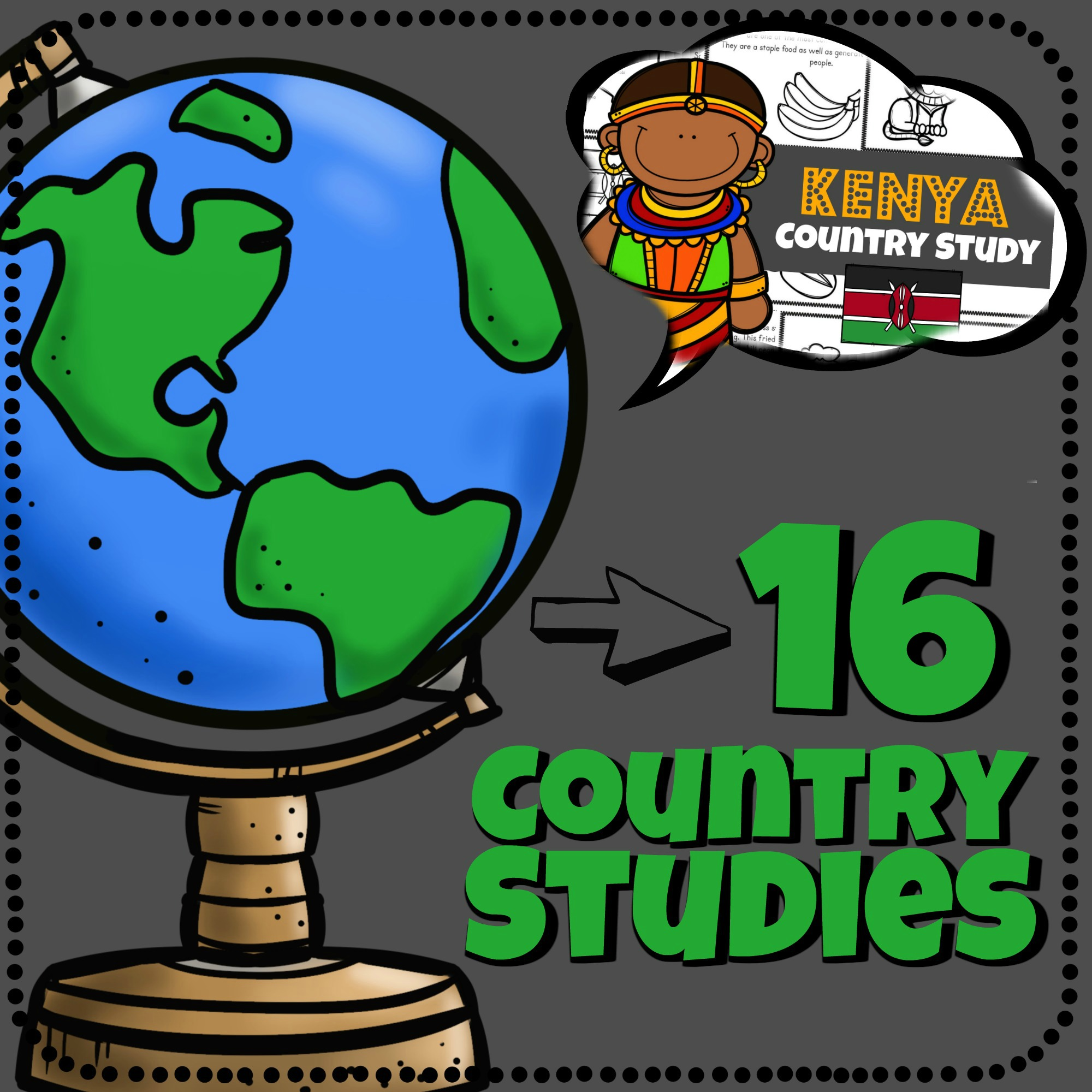 16 Country Stu S For Kids