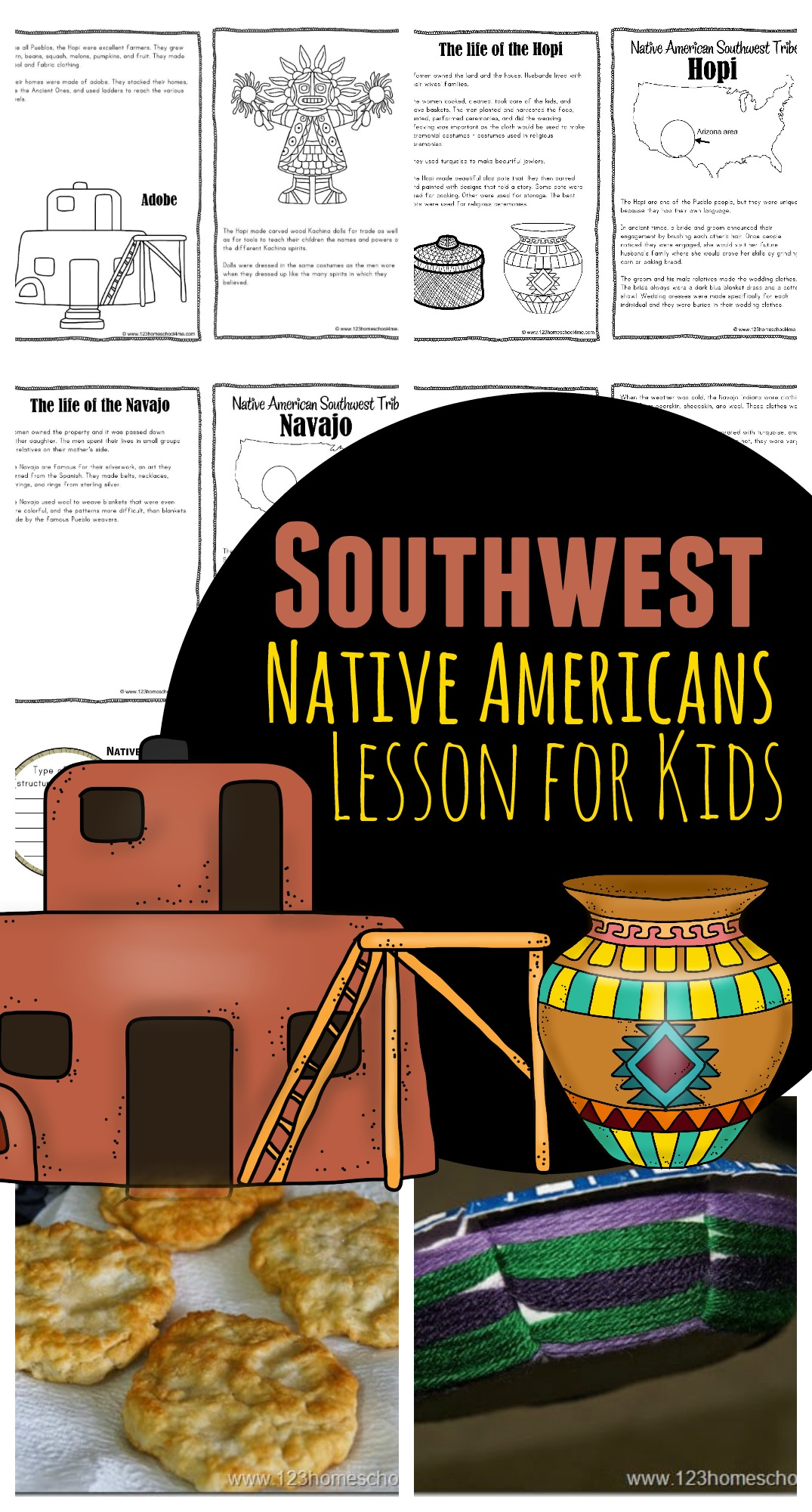 Southwest Native Americans For Kids