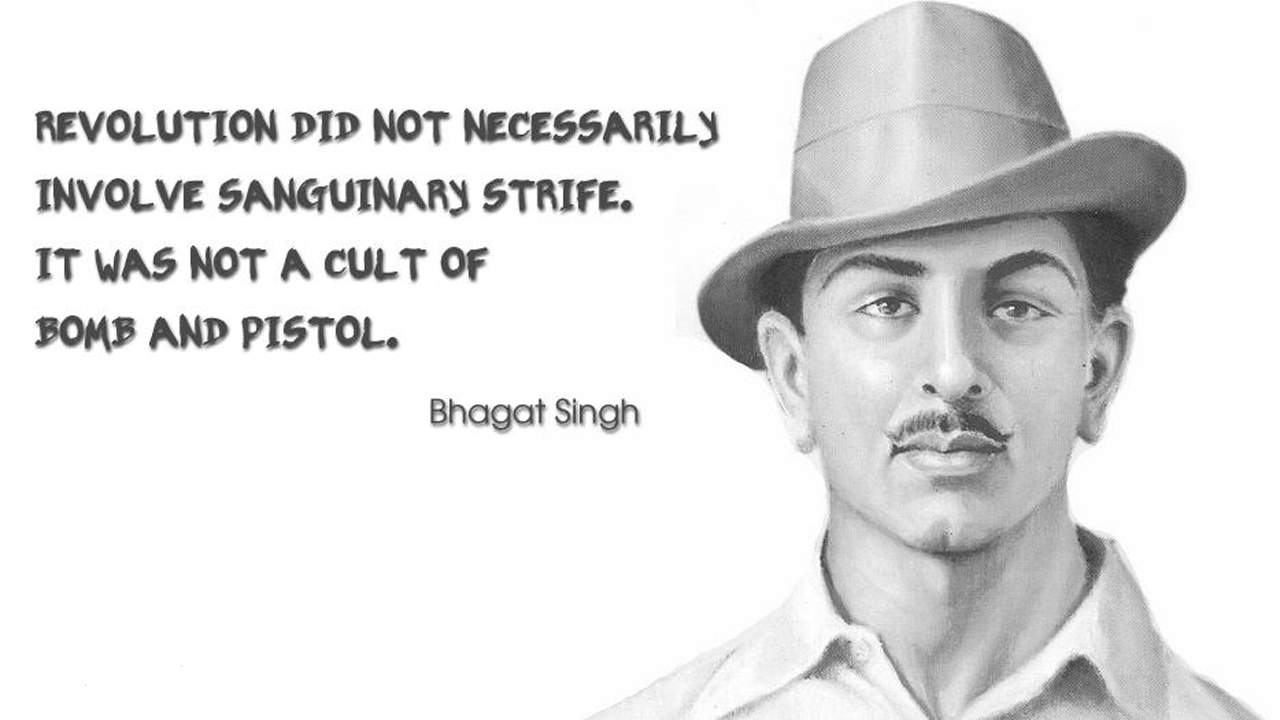 Image result for bhagat singh images