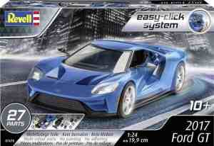 2017 Ford GT Revell schaal 124