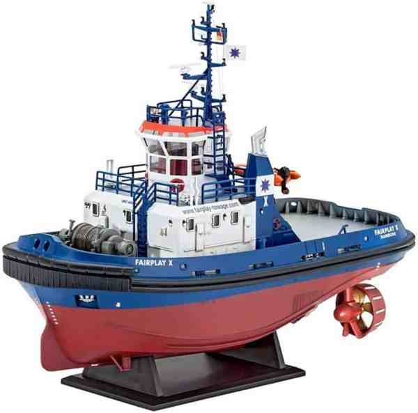 Harbour Tug Boat Fairplay Revell schaal 1:144