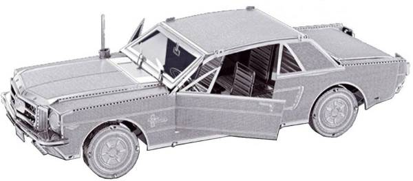 Metal Earth Modelbouw 3D Ford Mustang Coupe - Metaal